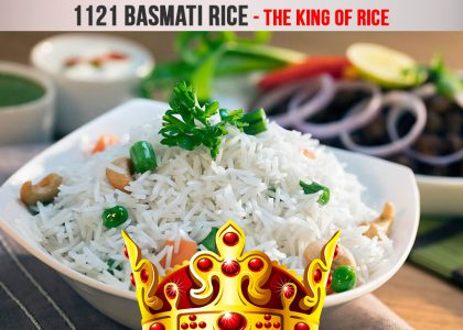 1121 Basmati Rice – The King of Rice