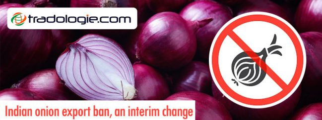 Onion export ban