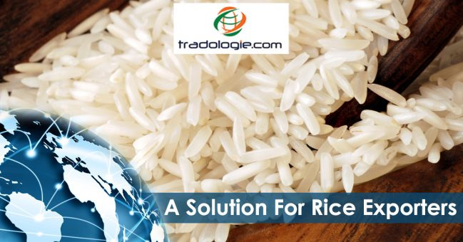 A solution for rice exporters