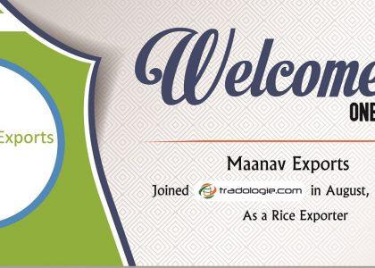 Tradologie.com welcomes Maanav Exports onboard