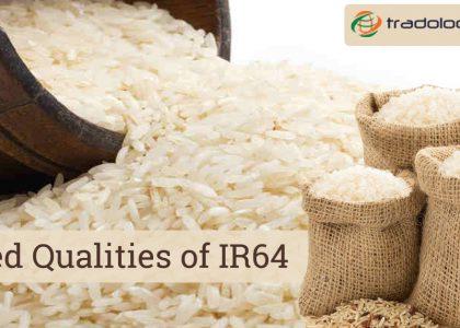 varied qualities of IR64