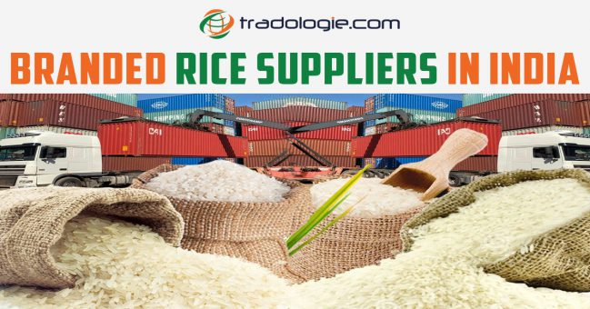 Branded rice online procurement from suppliers