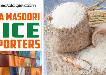 Sona Masoori Rice Buyer Suppliers