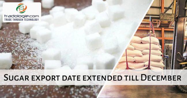 sugar export