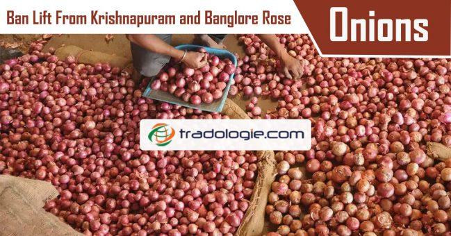 onion lift from Krishnapuram and Bangalore rose