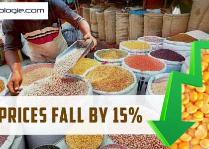 Tur prices fall by 15%