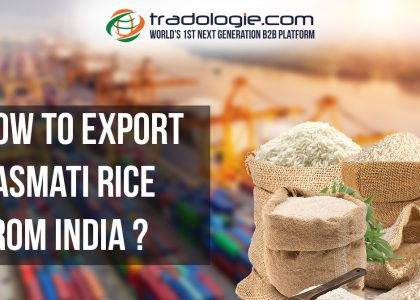 How to Export Basmati Rice from India